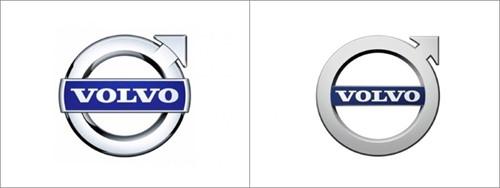 volvo логотип в векторе